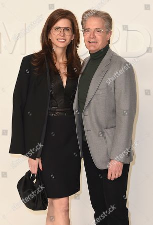 Desiree Gruber, Kyle MacLachlan. Desiree Gruber and Kyle MacLachlan attend the Tom Ford show at Milk Studios during NYFW Fall/Winter 2020, in Los Angeles