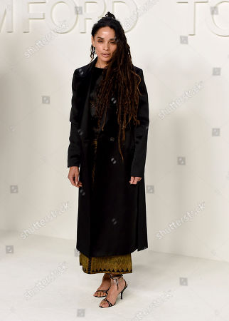 Lisa Bonet attends the Tom Ford show at Milk Studios during NYFW Fall/Winter 2020, in Los Angeles
