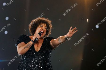 Casey Donovan sings 'Proud' during the 2020 Eurovision - Australia Decides final at the Gold Coast Convention and Exhibition Centre on the Gold Coast, Queensland, Australia, 08 February 2020. The Eurovision Song Contest (ESC) 2020, the 65th edition of the event, is held from 12 to 16 May 2020 in the city of Rotterdam, The Netherlands. Australia, where the ESC is very popular since 1974, sent its first participant for the ESC's 60th jubilee event in 2015.