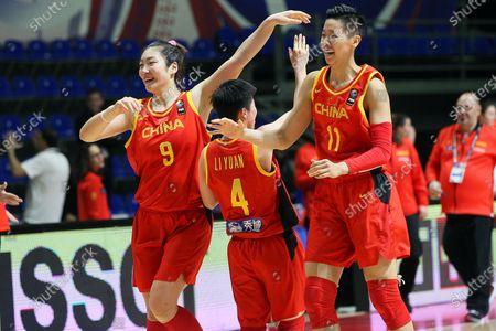 Editorial image of China vs Spain, Belgrade, Serbia - 08 Feb 2020