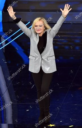 Rita Pavone performs on stage at the Ariston theatre during the 70th Sanremo Italian Song Festival, Sanremo, Italy, 08 February 2020. The festival runs from 04 to 08 February.