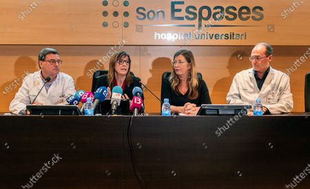 Editorial image of A British family is admitted in Son Espases Hospital for coronavirus, Palma De Mallorca, Spain - 08 Feb 2020