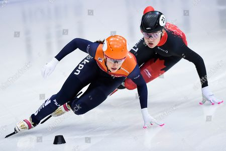Editorial photo of Short Track World Cup Speedskating, Dresden, Germany - 08 Feb 2020