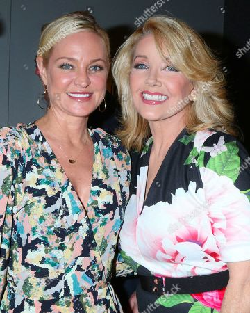 Sharon Case and Melody Thomas Scott