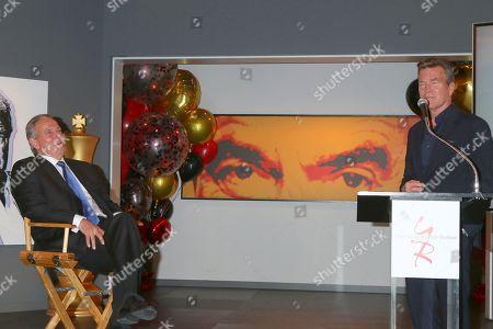 Stock Image of Eric Braeden and Peter Bergman