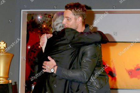 Eric Braeden and Justin Hartley