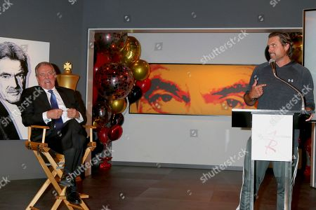Stock Picture of Eric Braeden and Joshua Morrow