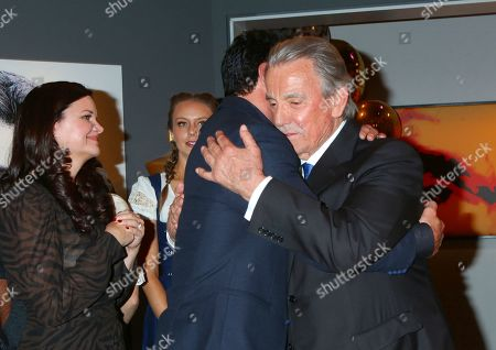 Stock Picture of Heather Tom, Don Diamont, and Eric Braeden