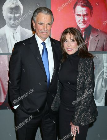 Eric Braeden and Kate Linder