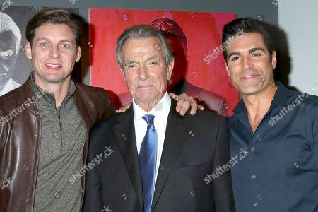 Donny Boaz, Eric Braeden and Jordi Vilasuso
