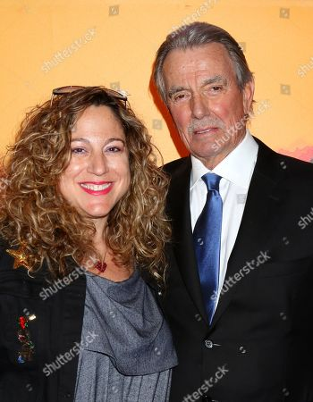 Stock Picture of Deanna Barnert and Eric Braeden