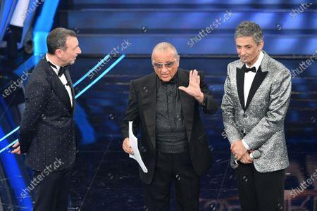 Amadeus, Tony Renis and Rosario Fiorello
