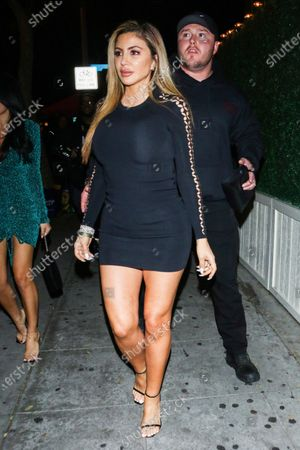 Larsa Pippen outside Delilah Nightclub in West Hollywood