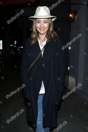 Editorial photo of Bree Turner out and about, Los Angeles, USA - 07 Feb 2020