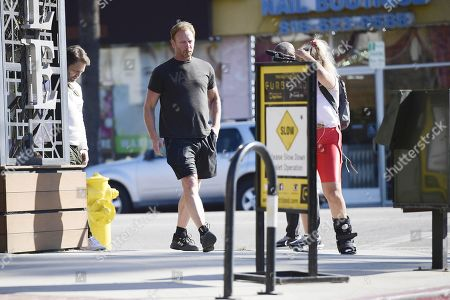 Ian Ziering out filming