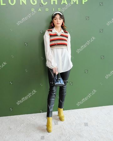 Stock Picture of Luna Blaise attends NYFW Fall/Winter 2020 - Longchamp at Hudson Commons, in New York