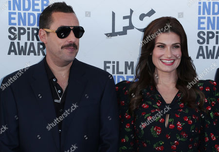 Adam Sandler and Idina Menzel