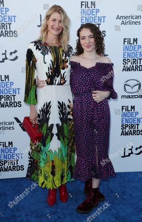 Laura Dern and daughter Jaya Harper