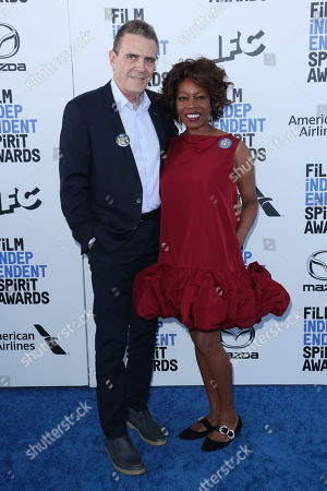 Stock Photo of Roderick Spencer and Alfre Woodard