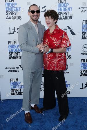 Shia LaBeouf and Noah Jupe