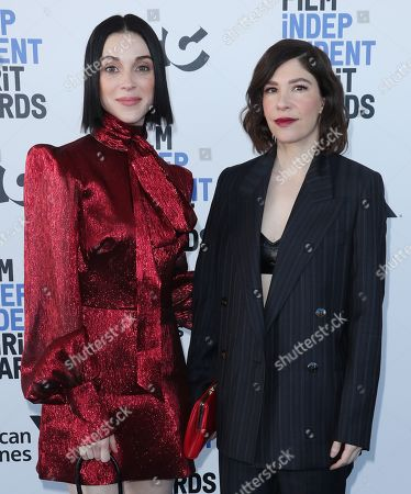 Stock Photo of St. Vincent and Carrie Brownstein
