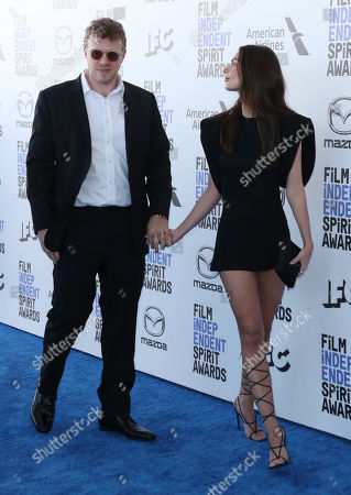 Emily Ratajkowski and husband Sebastian Bear-McClard