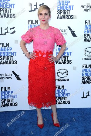 Editorial photo of 35th Annual Film Independent Spirit Awards, Arrivals, Los Angeles, USA - 08 Feb 2020