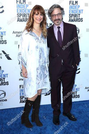 Stock Image of Lynn Shelton and Marc Maron
