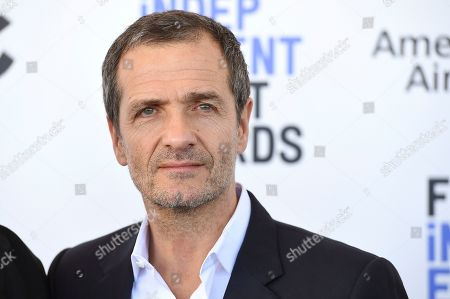Stock Photo of David Heyman arrives at the 35th Film Independent Spirit Awards, in Santa Monica, Calif