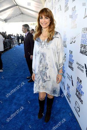 Lynn Shelton arrives at the 35th Film Independent Spirit Awards, in Santa Monica, Calif