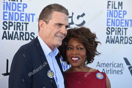 Roderick Spencer, Alfre Woodard. Roderick Spencer, left, and Alfre Woodard arrive at the 35th Film Independent Spirit Awards, in Santa Monica, Calif
