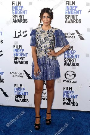 Stock Picture of Stephanie Beatriz arrives at the 35th Film Independent Spirit Awards, in Santa Monica, Calif