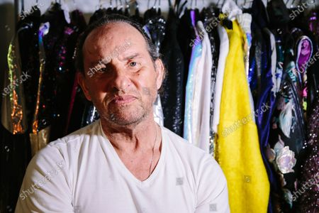 Spanish fashion designer Custo Dalmau, founder of Custo Barcelona poses for a photo at the fitting room of his runway show in New York, New York, USA, 07 February 2020 (issued 08 January 2020). The designer presents his fall/autumn collection during the New York Fashion Week.