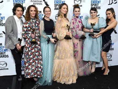 Editorial picture of 2020 Film Independent Spirit Awards - Press Room, Santa Monica, USA - 08 Feb 2020