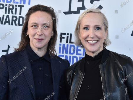 Celine Sciamma and Elisabeth Bentley
