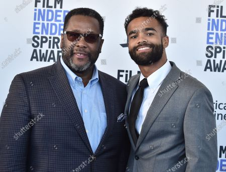 Wendell Pierce and Phillip Youmans