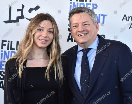 Sarah Sarandos and Ted Sarandos