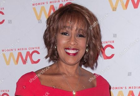 Gayle King attends the 2019 Women's Media Awards, hosted by The Women's Media Center, at the Mandarin Oriental New York in New York. King is facing death threats following a social media backlash caused by an interview with retired WNBA star Lisa Leslie that concerned the late Kobe Bryant