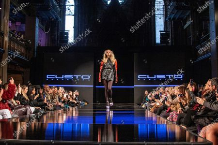 Editorial picture of Custo Barcelona celebrates 40 years in fashion, New York, USA - 08 Feb 2020
