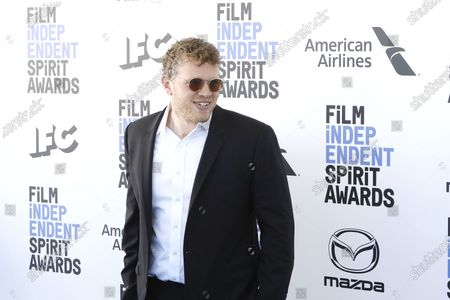 Sebastian Bear-McClard arrives for the 2020 Film Independent Spirit Awards in Santa Monica, California, USA, 08 February 2020. The award ceremony, organized by the non-profit organization Film Independent, honors the finest independent films of the preceding year.