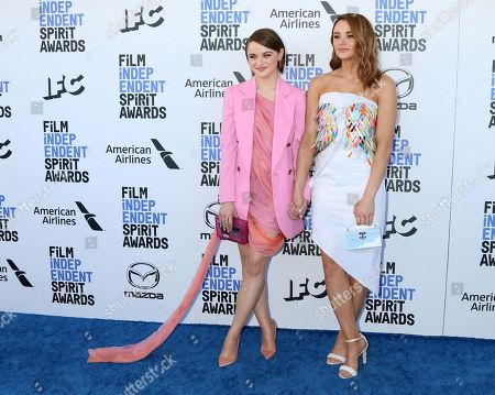 Editorial image of 35th Annual Film Independent Spirit Awards, Arrivals, Los Angeles, USA - 08 Feb 2020