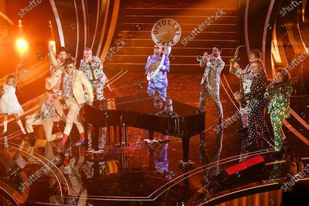 Editorial picture of 70th Sanremo Music Festival, Italy - 08 Feb 2020