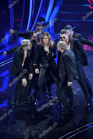 Editorial image of 70th Sanremo Music Festival, Italy - 08 Feb 2020