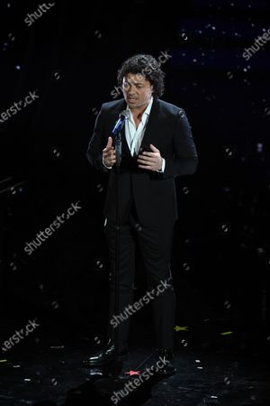 Editorial image of 70th Sanremo Music Festival, Italy - 08 Feb 2020