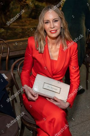 Dee Ocleppo Hilfiger attends the Brandon Maxwell fashion show at the American Museum of Natural History during NYFW Fall/Winter 2020 on in New York