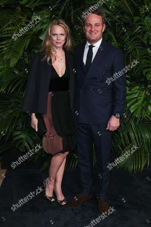 Cecile Breccia and Jason Clarke