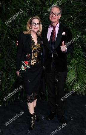 Stock Photo of Laurie Feig and Paul Feig