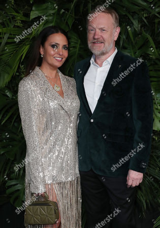 Jared Harris and wife
