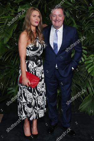 Stock Photo of Celia Walden, Piers Morgan