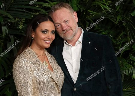 Allegra Riggio, Jared Harris. Allegra Riggio, left, and Jared Harris arrive at the Chanel Pre-Oscar Dinner at The Beverly Hills Hotel, in Beverly Hills, Calif